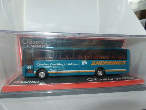 Corgi OOC 42712 Van Hool Alizee Coach Shearings Closed Back MIMB